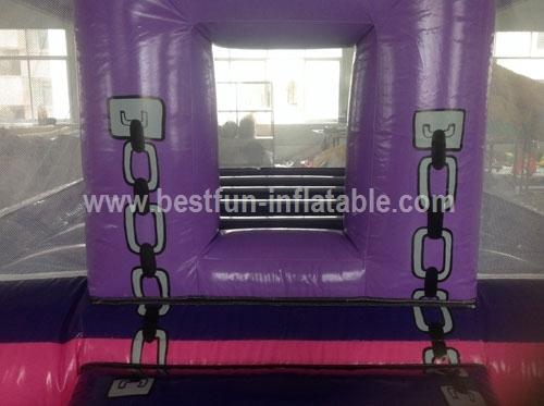 Pink Princess Inflatable Bouncer