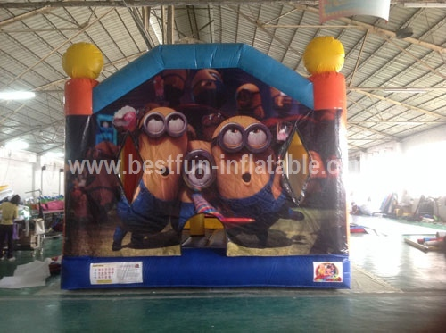 Print Minions Themed Bouncer Inflatable Combo