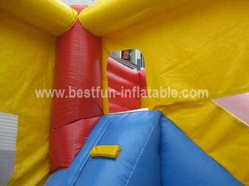 Residential bouncer slide combo