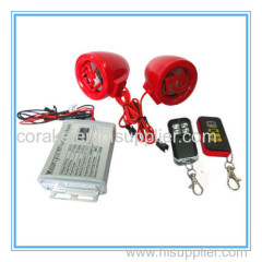 2014 OEM motorcycle alarm mp3 player