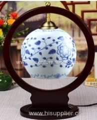 Chinese antique porcelain bedlamp
