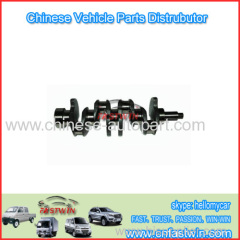 Chinese auto parts for JAC refine Crank shaft for Truck