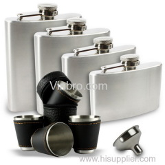 VinBRO Stainless Steel Hip Flasks Liquor Flask