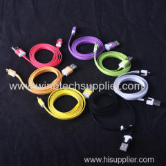 3M No-o-dle Style Micro USB Charger Cable for Samsung Galaxy S4 S3 i9300 i9500 for for HTC / LG / Sony / Nokia