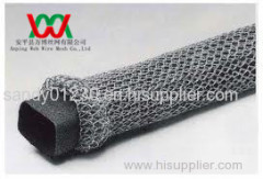 metal knitted wire over foam core gasket