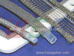 electromagnetic shielding knitted wire mesh