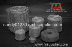 knitted wire mesh gasket for environmental protection