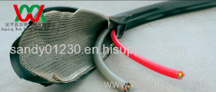 metal knitted wire EMI shielding cable (factory price)