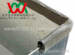 metal knitted wire for Clip-on EMI/RFI shielding gasket