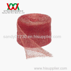 Knitted Copper Flat Wire Mesh(factory, 20 plus years)