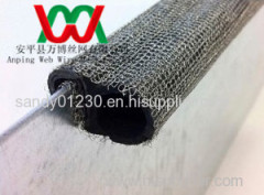 knitted wire mesh for Clip-on EMIRFI shielding gasket