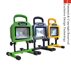 portable rechargeable cob led work light