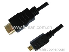 HDMI A to Micro D Cable