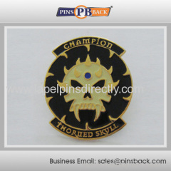 trading soft enamel pin badge