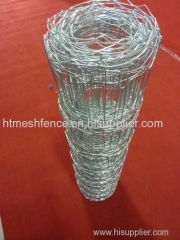 Joint hot dipped galvanized field fence