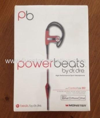 Beats by Dr.Dre pb PowerBeats Ear-Hook High Performance Sport Headphones ControlTalk