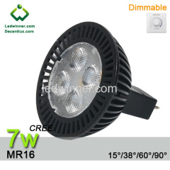 dimmable mr16 led bulbs cree 7w