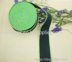 Jacquard woven elastic tape