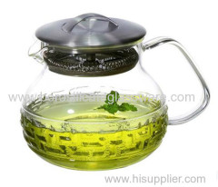 single Wall Glass Teapots with high quality