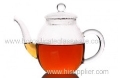 single Wall Glass Teapot with high quality