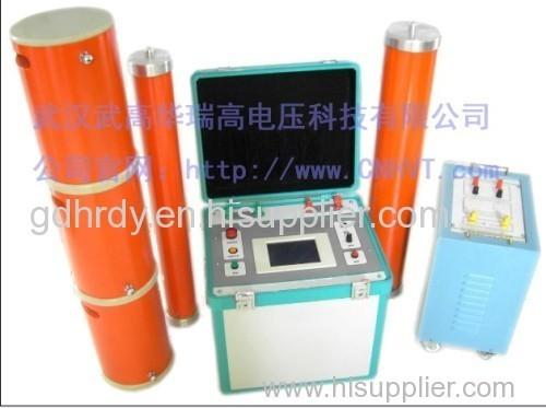 Series resonant frequency exchange of high-voltage pressure test equipment pressure