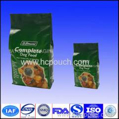 pet food side gusset bags