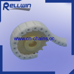 40P Plastic Flexible plastic modular conveyor Chain