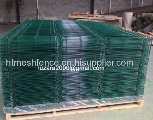 Green Powder-coatingFinish welded wire fence