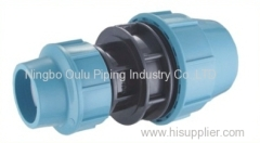 Coupling/PP Compression Fittings Reducing Coupling