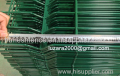 PVC-coated 50mm X200mm mesh size welded fence panels