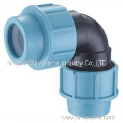 Elbow/PP Compression Fittings Equal Elbow