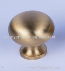 Brass ball door knob (cabinet knob)