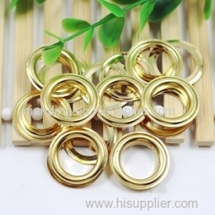 Brass eyelet and grommet for the bags and wallet suitcases
