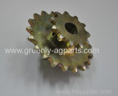 AA27146 GB0107 John Deere Kinze sprocket for hopper drive with 11&19 tooth