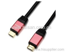 High quality moulded HDMI cable