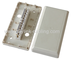 LSA 10 pair indoor distribution box