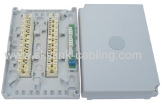 LSA 20 pair indoor distribution box