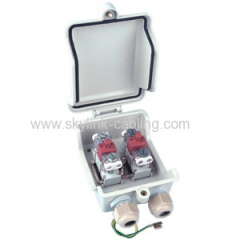2 pairs Drop wire distribution box