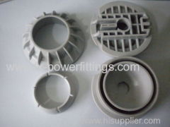 PVC TPE PBT PA PE ABS Plastic Injection Mold Parts Precision plastic fittings making