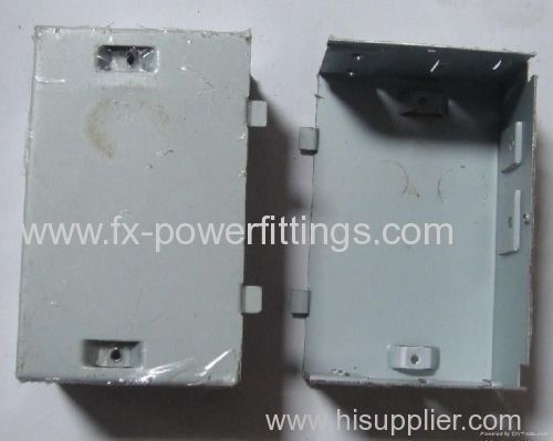 FX Customized E-Coating Bending Metal Stamping Parts For Electrical Parts