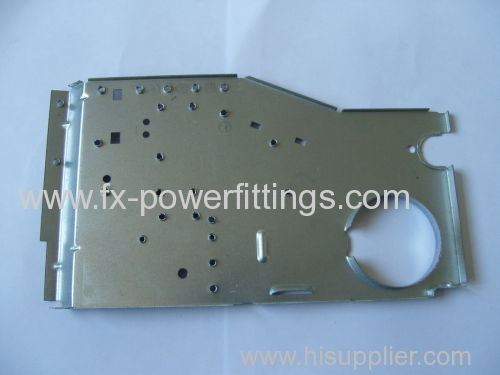 FX OEM CRS HRS Steel Metal Stamping Parts 5 MT - 200MT Cavity 738H For Automotive