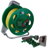 Wall Mountable Garden Hose Reel Set