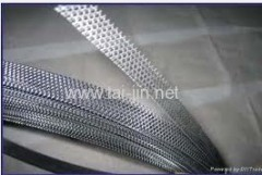 Mesh Titanium electrode for reinforcing concrete systems