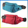 Fashion canvas sports belt pouch motorcycle waist bag