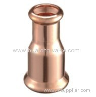 Copper press fittngs coupling