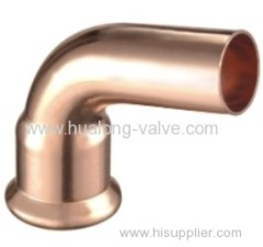 Copper Press 90 Degree Street Elbow
