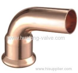 Copper Press 90 Degree Street Elbow