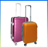 Fashionable hard travel ABS case 20 inch suitcase trolley luggage set