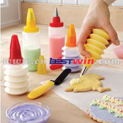 party cookie decoration kit/Decorating Pen Set for Cake Cookie Cupcake