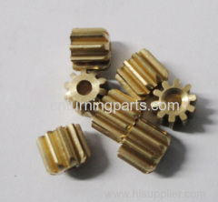 precision brass cnc milled parts